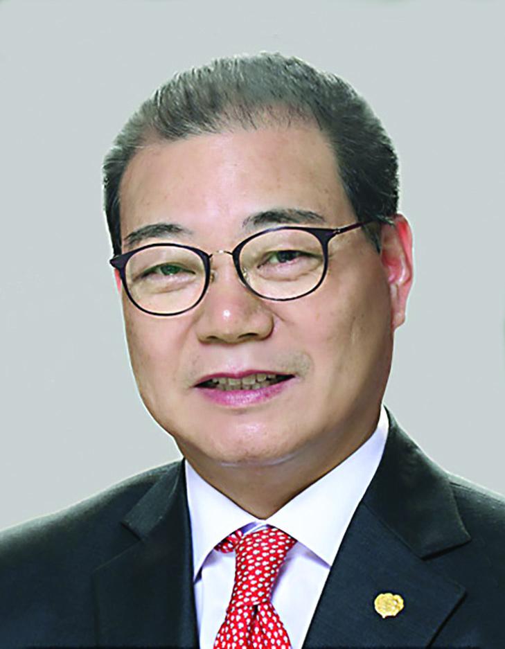 회계 후보 노수헌 장로